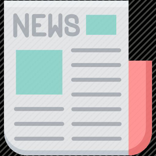 e newsletter, enewsletter, media, newsletter, newspaper, press, print icon