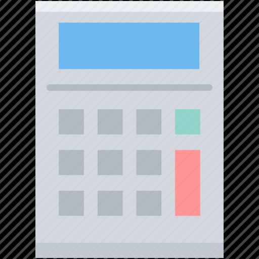 calculating, calculation, calculator, education, math, maths icon