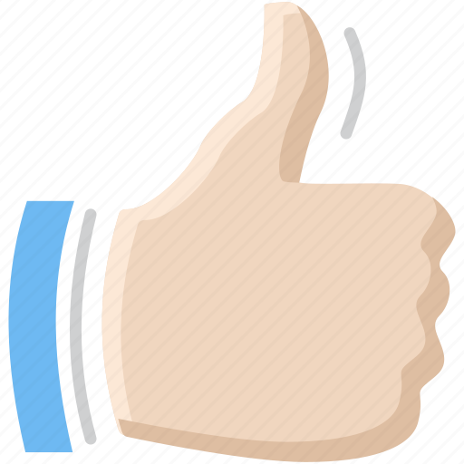 favorite, gesture, hand, like, thumb, thumbs up, vote icon