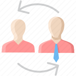 chat, communication, conversation, employee, network, talk, talking icon