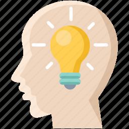 bulb, business, creative, idea, innovate, innovation, power icon