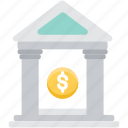 bank, business, finance, financial, investment, loan, property icon