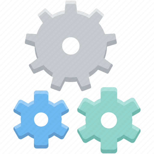 cog, gear, process, repair, setting, system, work icon