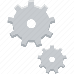 cog, cogwheel, gear, process, system, tool, wheel icon