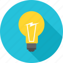 bulb, business, energy, idea, innovation, lightbulb, power icon