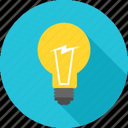 bulb, business, energy, idea, innovation, lightbulb, power icon
