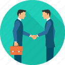 agreement, business, deal, hand shake, handshake, meeting, partnership icon