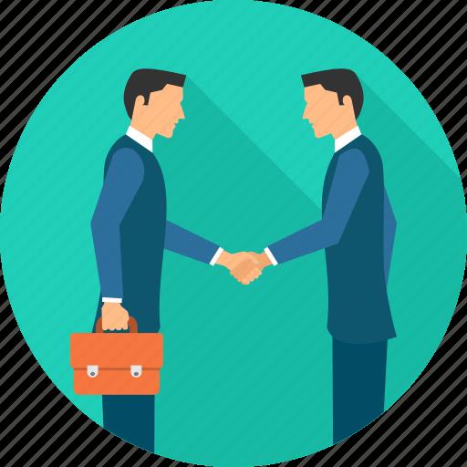 agreement, business, deal, hand shake, handshake, meeting, partnership icon