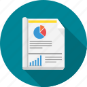analysis, analytics, business, financial, graph, report, statistics icon