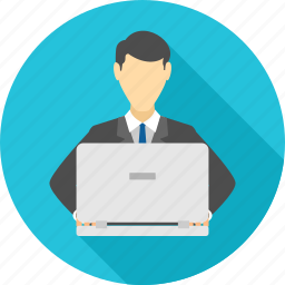 business, businessman, employee, male, man, person, profile icon
