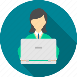 business, businesswoman, employee, female, lady, person, profile icon
