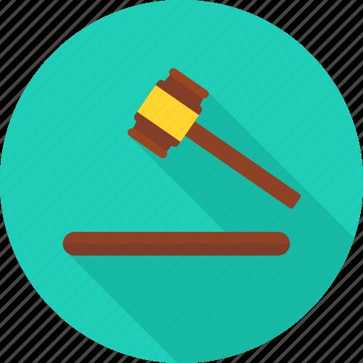court, decision, judge, justice, law, lawsuit, success icon