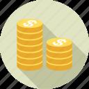 cash, coins, finance, financial, money, payment, business
