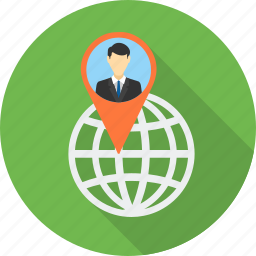 client, country, gps, location, map, navigation, world icon