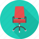 boss, business, chair, lead, manage, office, seat icon