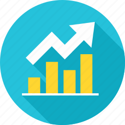analysis, business, diagram, graph, growth, presentation, report icon