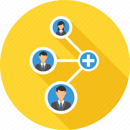 connection, link, network, share, social icon