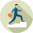 business, growth, ladder, stairs icon