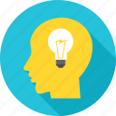 bulb, business, creative, idea, innovation icon