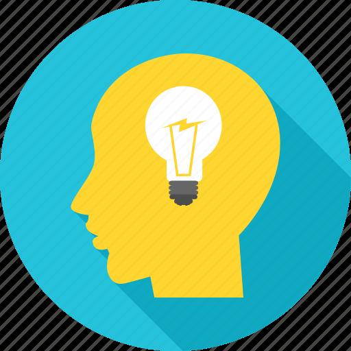 bulb, business, creative, idea, innovation icon