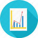 analytics, business, chart, graph, growth, report icon