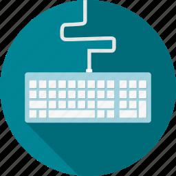 computer, hardware, input keys, keyboard, keys icon