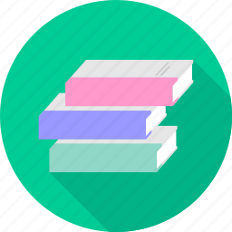 books, business, library, office, record icon