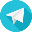 email, paper, paper plane, plane, post, send icon