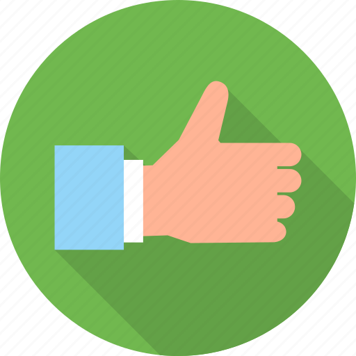 business, like, thumb, thumbs up, up icon