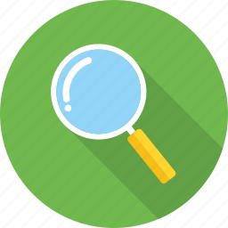 find, locate, magnifier, magnifying, optimization, search, zoom icon