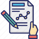 agreement, business document, contract, deal, document sign icon