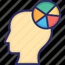 business analyst, businessman, economist, financial expert, head shrinker icon
