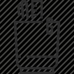 stationery elements icon
