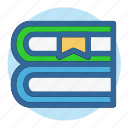 book, business, education, office, read, study, work icon