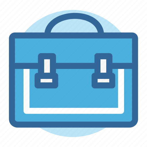 briefcase, business, office, room, suitcase, work icon