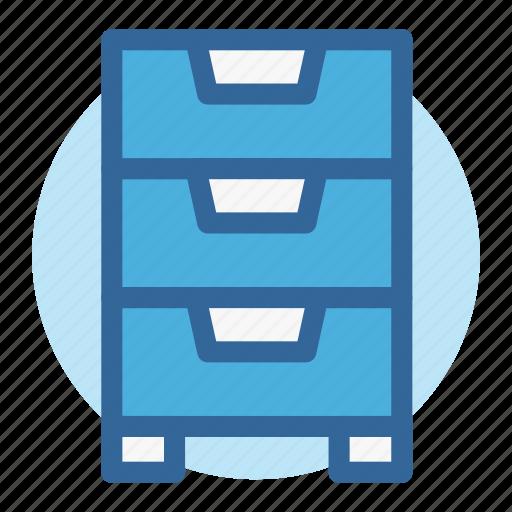 cabinet, drawer, furniture, office, room, storage, work icon