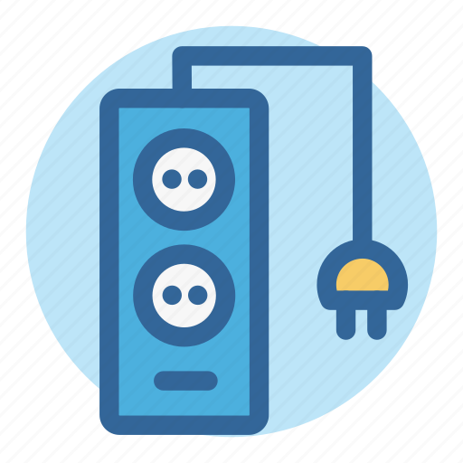 charge, electric, office, plugs, power, room, work icon