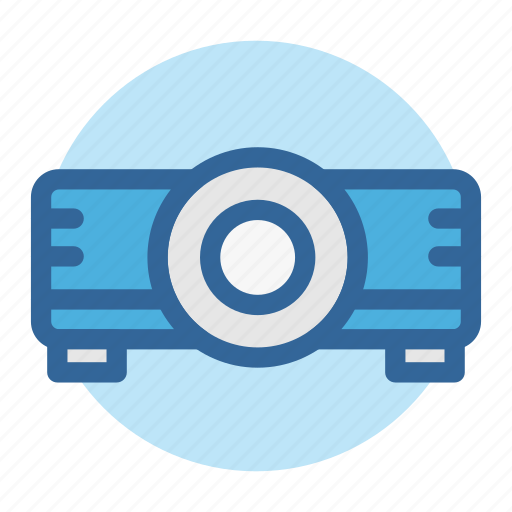 business, display, office, projector, room, technology, work icon