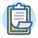 analysis, document, office, report, room, task, work icon