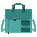 bag, briefcase, files, suitcase icon