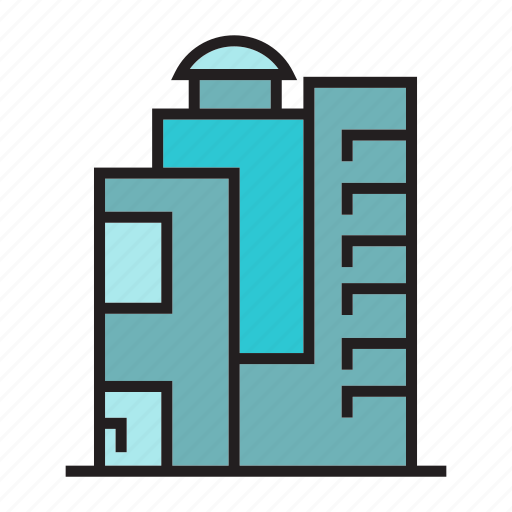 accommodation, condo, hostel, office, residence, structure, tower icon