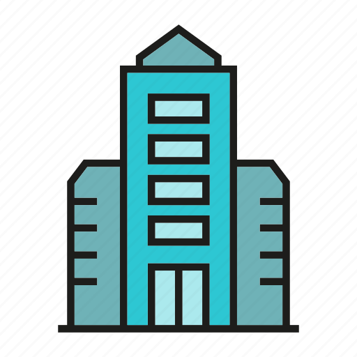 building, house, office, real estate, residence, structure, tower icon
