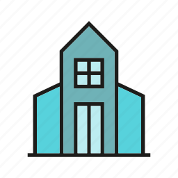 building, church, home, house, real estate, residence icon
