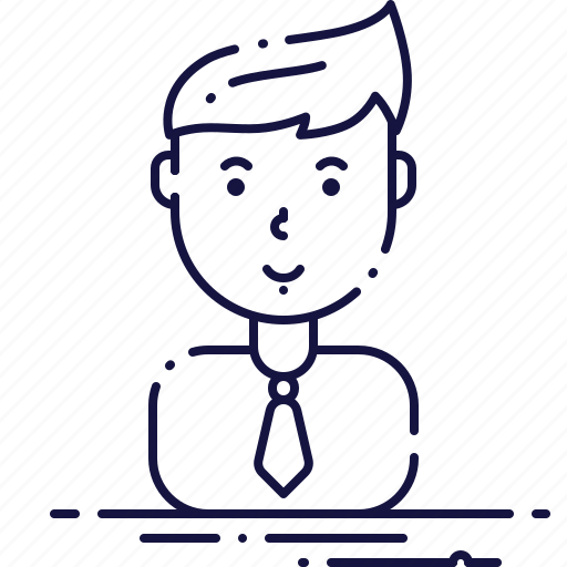 account, avatar, male, manager, person, profile, user icon