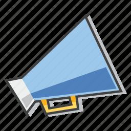 advertising, bullhorn, megaphone, viral marketing icon