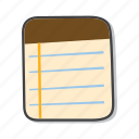 memo, post it notes, reminder icon