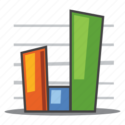 analytics, bar graph, sales, statistics icon