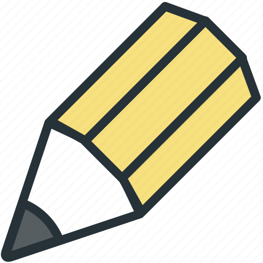 office, pencil, work icon