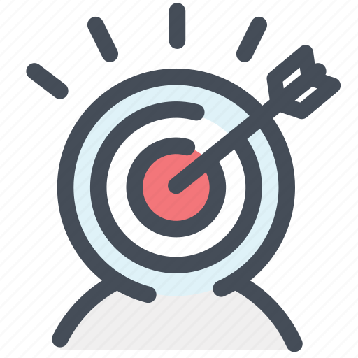 auditory, target, target auditory, users icon