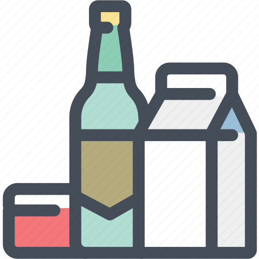 bottle, carton, object, package, packing, product, products icon